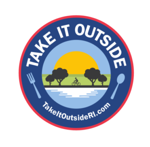 Take It Outside Rhode Island logo