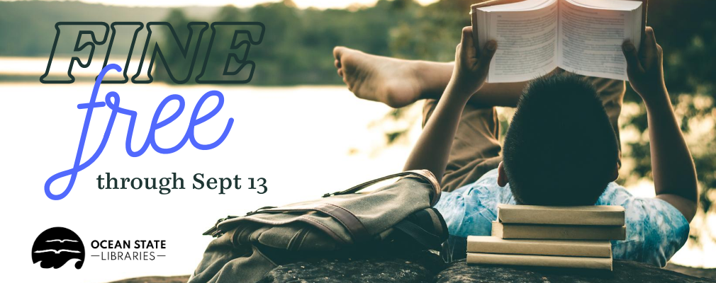 Fine Free Through September 13